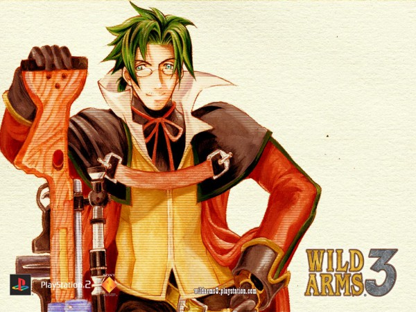 Tags: Anime, Ooba Wakako, Wild Arms, Clive Winslett, Official Wallpaper, Wallpaper, Official Art