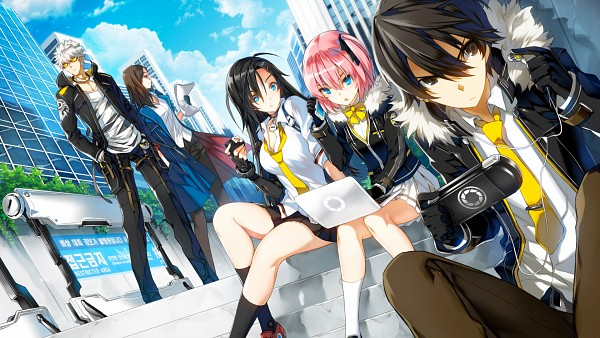 Tags: Anime, RESS, Naddic Games, Closers: Dimension Conflict, Yuri Seo, Seulbi Lee, J (Closers: Dimension Conflict), Seha Lee, PSP, HD Wallpaper, Wallpaper, Facebook Cover
