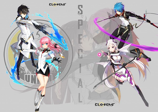 Tags: Anime, Closers: Dimension Conflict, Nata (Closers: Dimension Conflict), Seha Lee, Seulbi Lee, Levia (Closers: Dimension Conflict)