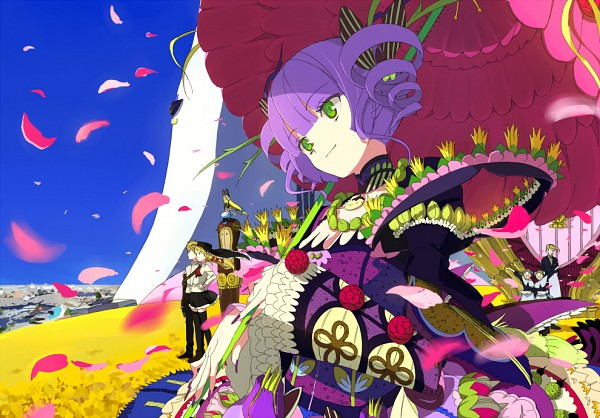 Tags: Anime, 15 (Artist), Cloth Road, June May, Fergus, Jennifer (Cloth Road)