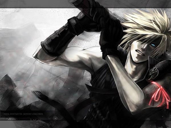 Tags: Anime, Gigu Mindhack, Final Fantasy VII, Cloud Strife, Fanart, Pixiv