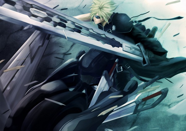 Tags: Anime, Pochiharu, SQUARE ENIX, Final Fantasy VII, Dissidia, Cloud Strife
