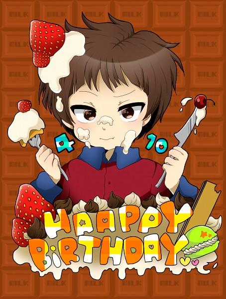 Tags: Anime, Pixiv Id 3779022, South Park, Clyde Donovan, Texto: Happy Birthday, Pixiv, Fanart