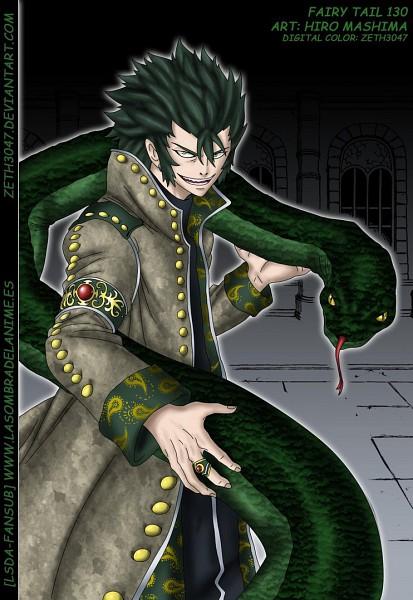 Tags: Anime, Mashima Hiro, FAIRY TAIL, Kinana, Cobra (FAIRY TAIL), Colorization