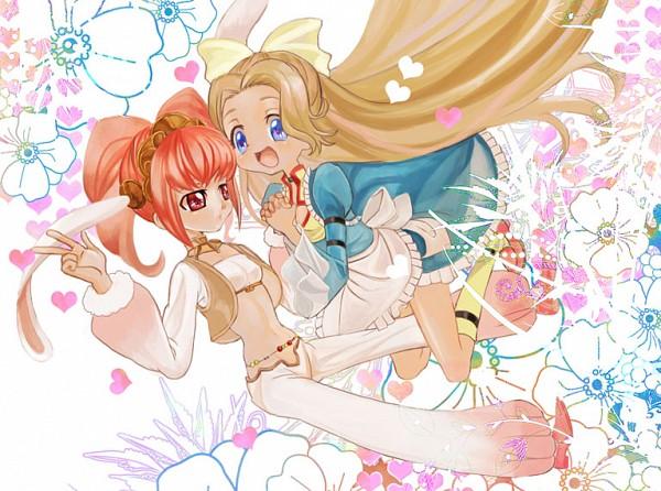 Tags: Anime, Alice in Wonderland, CODE GEASS: Hangyaku no Lelouch, Code Geass: Nunnally in Wonderland, Nunnally Lamperouge, Anya Alstreim, White Rabbit, Alice (Alice in Wonderland)