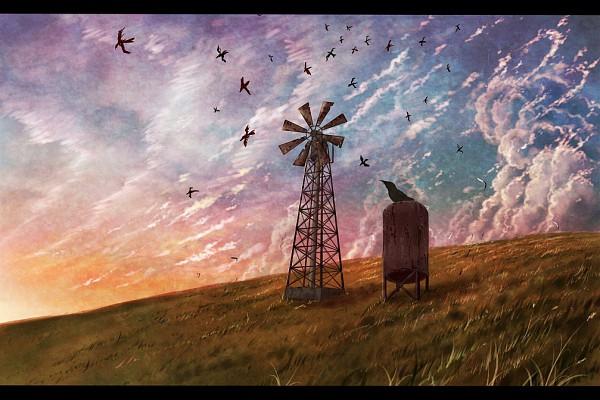 Tags: Anime, Cola Gotouryouta, Windmill, Pixiv, Original