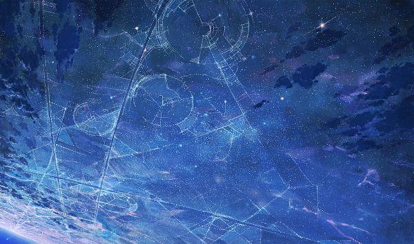 Tags: Anime, Cola Gotouryouta, Constellation, Wallpaper, Pixiv, Original