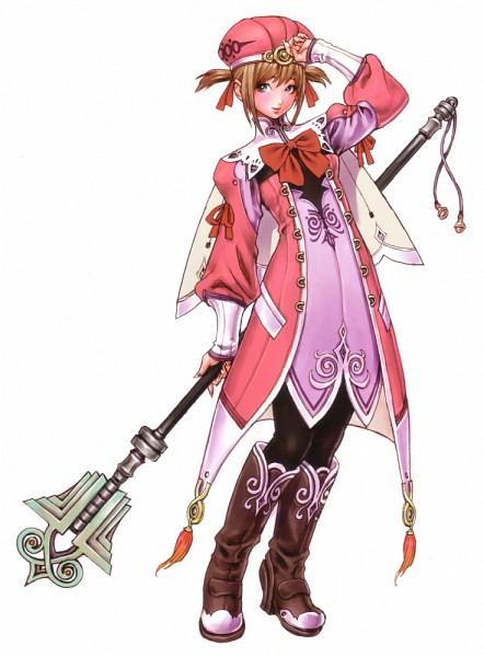Tags: Anime, Yamashita Shunya, Wild Flower, Alteil, Colette (Alteil), Official Art, Refess