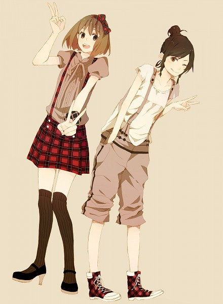 Tags: Anime, Yoshito, Icageso, Converse, Pixiv, Original, Collaboration