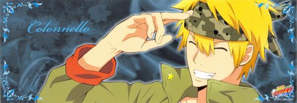 Tags: Anime, Tanaka Masayoshi, Katekyo Hitman REBORN!, Colonnello, Twitter Header