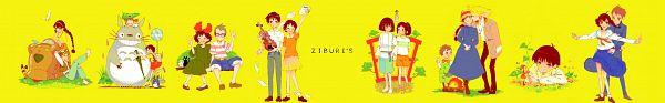 Tags: Anime, Biora, Tenkuu no Shiro Laputa, Sen to Chihiro no Kamikakushi, Mimi wo Sumaseba (Ghibli), Tonari no Totoro, Howl no Ugoku Shiro, Kokurikozaka Kara, Majo no Takkyuubin, Karigurashi no Arrietty, Haku (Sen to Chihiro no Kamikakushi), Calcifer, Kusakabe Satsuki