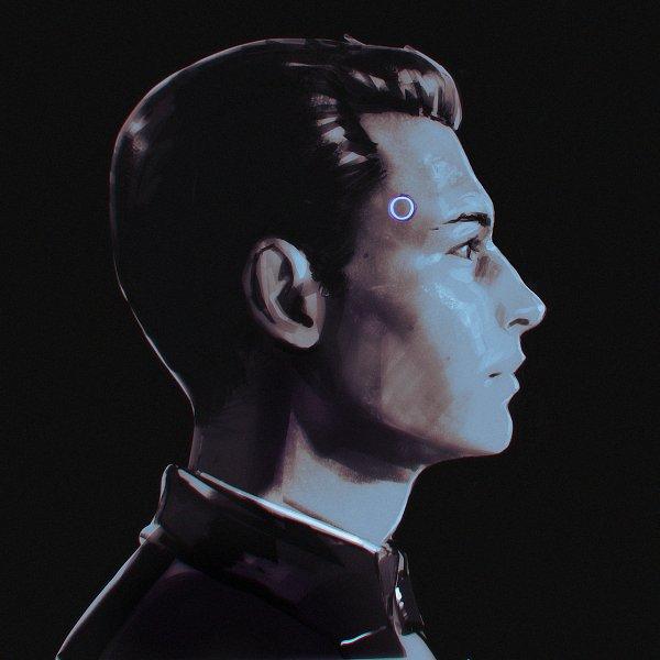 Tags: Anime, Ilya Kuvshinov, Detroit: Become Human, Connor (Detroit: Become Human), Fanart