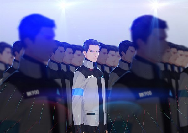 Tags: Anime, Pixiv Id 4524038, Detroit: Become Human, Connor (RK900), Connor (Detroit: Become Human), Pixiv, Fanart, Fanart From Pixiv