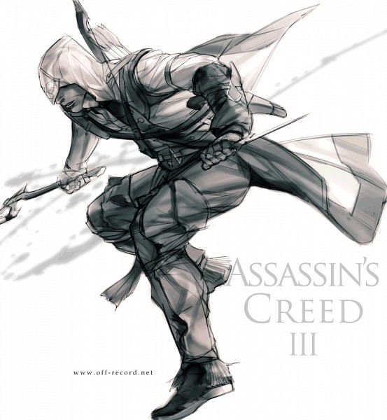 Tags: Anime, Assassin's Creed III, Assassin's Creed, Connor Kenway (Ratohnhaké:Ton)