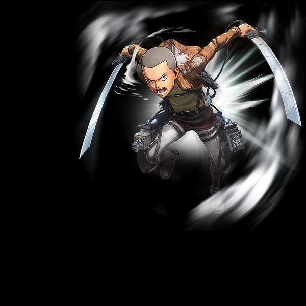 Tags: Anime, ω-Force, Attack on Titan, Shingeki no Kyojin (Koei Tecmo), Conny Springer, Official Art