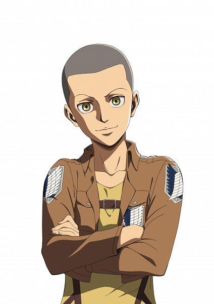 Tags: Anime, Kadowaki Satoshi, WIT STUDIO, Attack on Titan, Conny Springer, Official Art