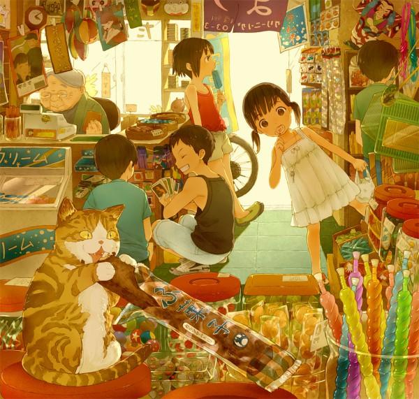 Tags: Anime, Conronca, Store, Grandmother, Pixiv, Original