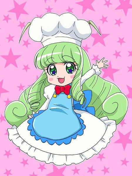 Tags: Anime, Pixiv Id 30191822, Kirakira☆Precure a la Mode, Eiga Kirakira☆Precure a la Mode, Cook (Precure), Chef Uniform, Twitter, Fanart