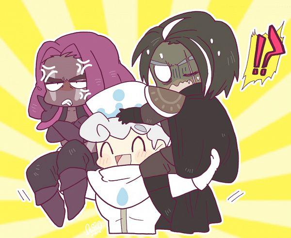 Tags: Anime, Shir0, Cookie Run: OvenBreak, Cookie Run, Dark Choco Cookie, Milk Cookie, Purple Yam Cookie, Fanart From Pixiv, Pixiv, Fanart