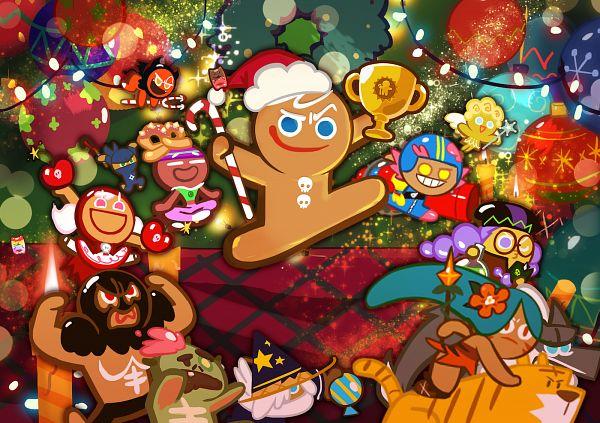 Tags: Anime, Devsisters, Cookie Run: OvenBreak, Cookie Run, Devil Cookie, Tiger Lily Cookie, Ninja Cookie, Angel Cookie, Alchemist Cookie, Zombie Cookie, Cherry Cookie, Yoga Cookie, Gumball Cookie