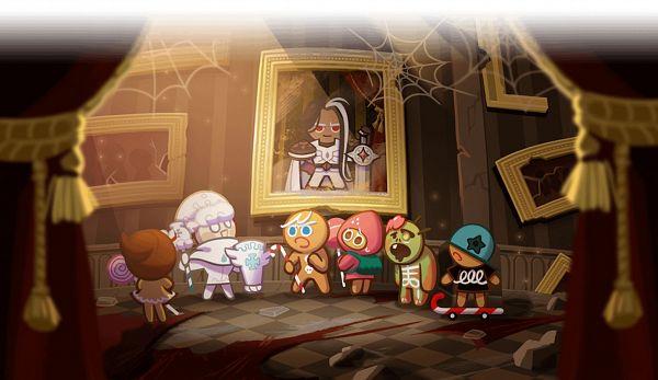 Tags: Anime, Devsisters, Cookie Run: OvenBreak, Cookie Run, GingerBright, Dark Choco Cookie (Young Prince), GingerBrave, Skater Cookie, Dark Choco Cookie, Zombie Cookie, Milk Cookie, Strawberry Cookie, Twitter