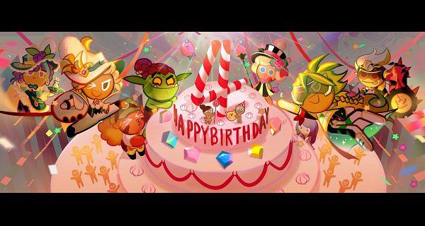 Tags: Anime, Lofter Id 15629883, Cookie Run: OvenBreak, Cookie Run, Blackberry Cookie, Kiwi Cookie, Kiwi Cookie (Maverick of the Circuit), Onion Cookie, Melon Bun Cookie, Birthday Cake Cookie (Afternoon Tea), GingerBright, Party Balloon (Cookie Run: OvenBreak), Goblin Cookie