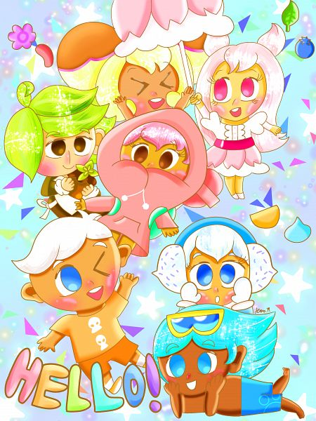 Tags: Anime, Jennalt-01angel, Cookie Run: Puzzle World, Cookie Run, GingerBrave, Herb Cookie, Soda Cookie, Cherry Blossom Cookie, Banana Cookie, Snow Sugar Cookie, Strawberry Cookie, Jelly Beans, Fanart From DeviantART