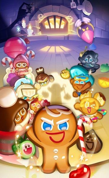 Tags: Anime, Devsisters, Cookie Run: Puzzle World, Cookie Run: OvenBreak, Cookie Run, GingerBrave, Cocoa Cookie, Banana Cookie, Squid Ink Cookie, Lemon Slice (Cookie Run), Knight Cookie, Choco Drop, Hero Cookie