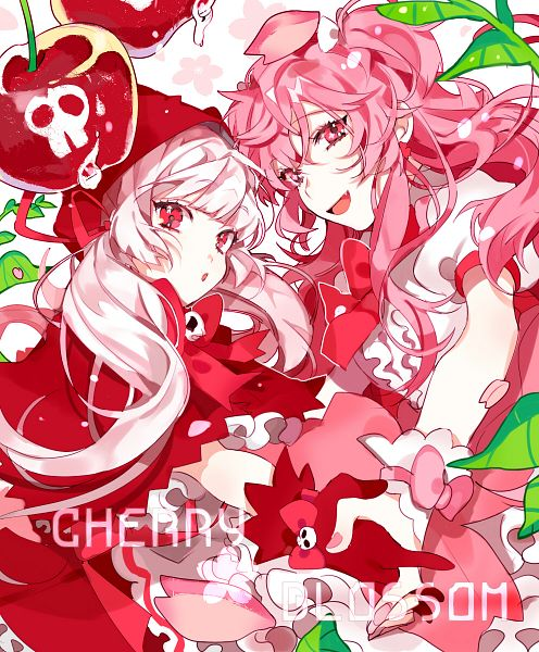 Tags: Anime, Piyo (ppotatto), Cookie Run, Cherry Blossom Cookie, Cherry Cookie, Twitter, Fanart From Pixiv, Pixiv, Fanart