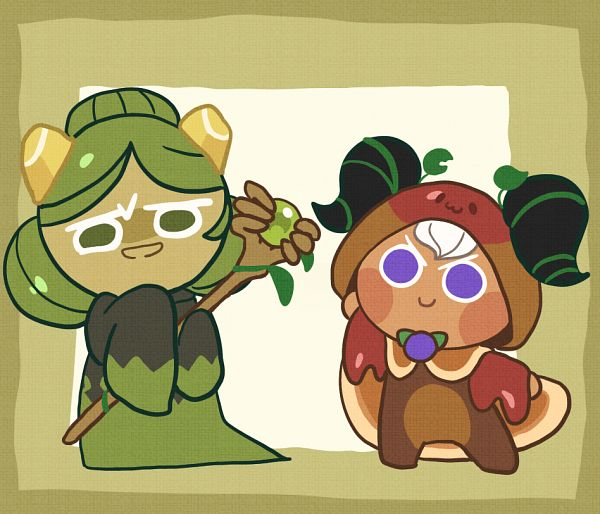 Tags: Anime, Pixiv Id 9522935, Cookie Run: OvenBreak, Cookie Run, Matcha Cookie, Pancake Cookie, Fanart From Pixiv, Pixiv, Fanart