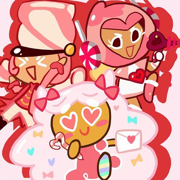 Tags: Anime, Aysenurtee, Cookie Run: OvenBreak, Cookie Run, Pink Choco Cookie, Cotton Candy Cookie, Marshmallow Cookie, Love Letter, Fanart From DeviantART, deviantART, Fanart