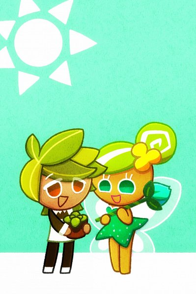 Tags: Anime, Pixiv Id 30503181, Cookie Run, Fairy Cookie, Herb Cookie, Potted Plant, Tumblr, Fanart From Tumblr, Fanart