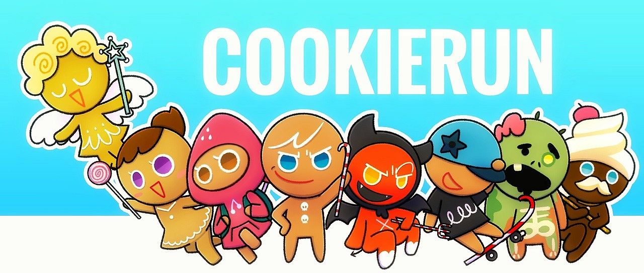 Tags: Anime, Ririko (Pixiv30503181), Cookie Run, GingerBright, Skater Cookie, GingerBrave, Buttercream Choco Cookie, Devil Cookie, Zombie Cookie, Angel Cookie, Strawberry Cookie, Fanart From Tumblr, Tumblr