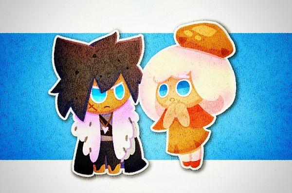 Tags: Anime, Pixiv Id 30503181, Cookie Run, Cream Puff Cookie, Werewolf Cookie, Orange Headwear, Orange Footwear, Orange Hat, Fanart, Fanart From Tumblr, Tumblr