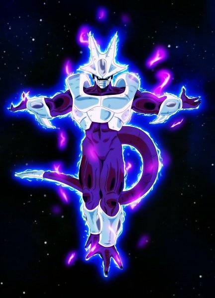 Tags: Anime, Salvamakoto, DRAGON BALL, Cooler (DRAGON BALL), Purple Skin, deviantART, Super Saiyan 5, Super Saiyan