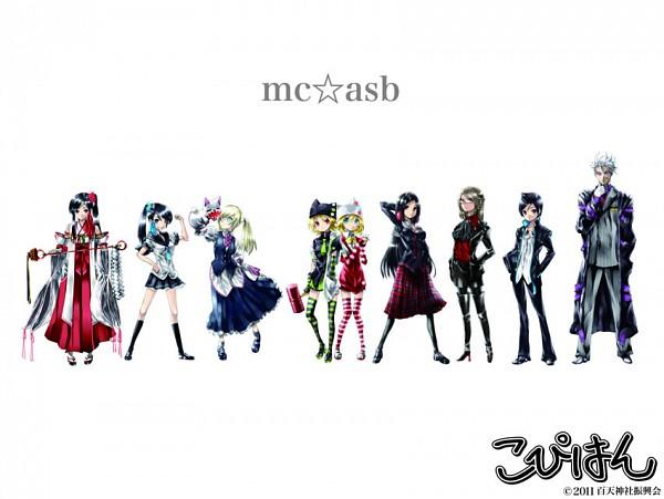 Tags: Anime, KEI (Pixiv4088), Copihan, Kumogiri Omoto, Mihashira Sayu, Urino Hiromi, Mihashira Saya, Kitoh Hotaru, Tsugayama Asagi, Kadokura Yuna, Tsugayama Yuzuki, Tsugayama Haruhiko