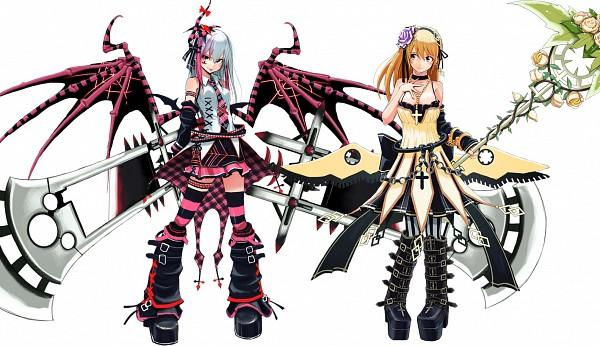 Tags: Anime, Pixiv Id 1346571, Cosmic Break, Eris (Cb), Resha (Cb), Fanart