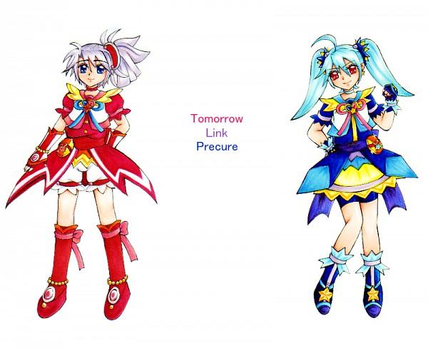 Tags: Anime, Oyakata, Cosmic Link Precure, Pretty Cure Fan Series