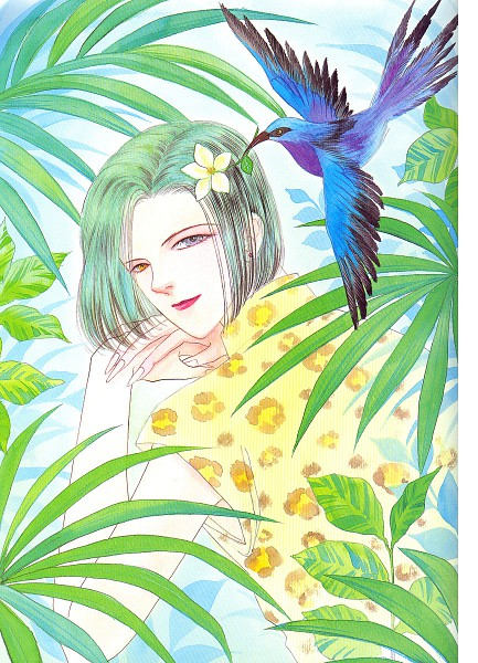 Tags: Anime, Akino Matsuri, Pet Shop of Horrors, Maboroshi No Hana Yoi No Tsuki, Count D, Scan, Official Art