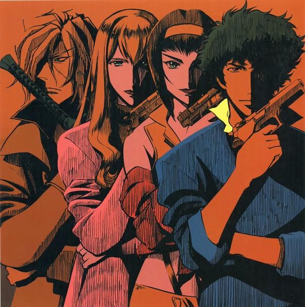 Tags: Anime, Cowboy Bebop, Vicious, Faye Valentine, Julia (Cowboy Bepop), Spike Spiegel