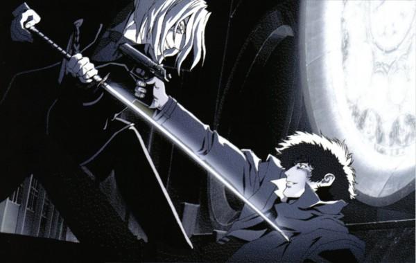 Tags: Anime, Sunrise (Studio), Cowboy Bebop, Vicious, Spike Spiegel, Official Art