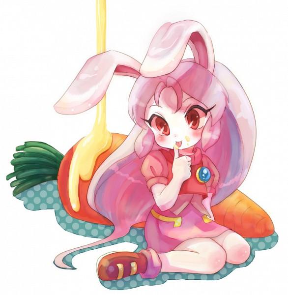 Tags: Anime, Pixiv Id 210786, Juuni Senshi Bakuretsu Eto Ranger, Cream (Eto Ranger), Rabbit (Chinese Zodiac), Fanart From Pixiv, Pixiv, Fanart