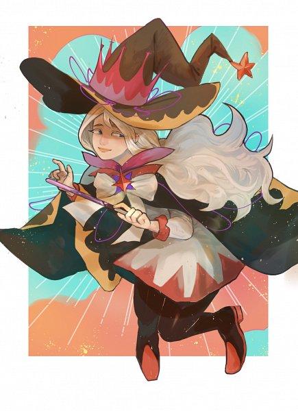 Tags: Anime, Pixiv Id 27533271, Cookie Run: OvenBreak, Cookie Run, Cream Puff Cookie, Cream Puff Cookie (Dark Magic Hat), Fanart, Fanart From Pixiv, Pixiv