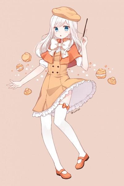Cream Puff Cookie - Cookie Run