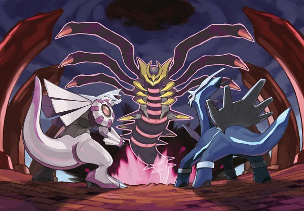 Creation Trio - Pokémon
