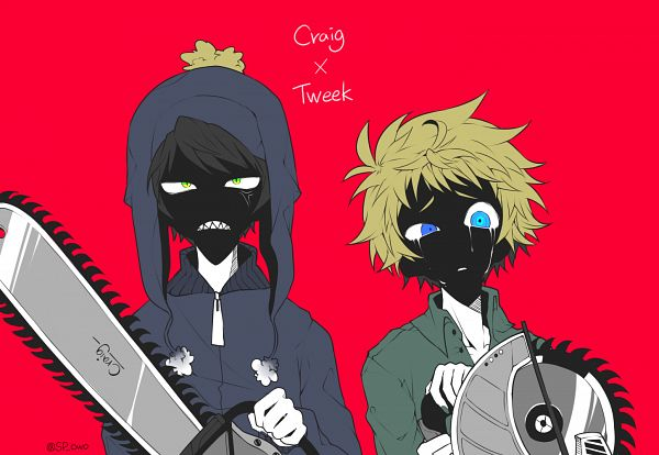 Tags: Anime, Pixiv Id 27053818, South Park, Tweek Tweak, Craig Tucker, Pixiv, Fanart From Pixiv, Fanart, Creek (South Park)