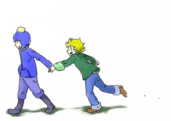 Tags: Anime, South Park, Tweek Tweak, Craig Tucker, Artist Request, Creek (South Park)