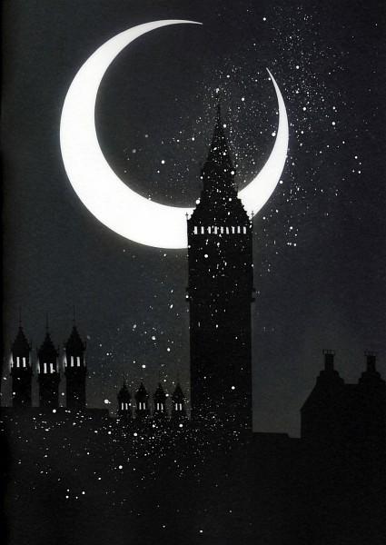 Crescent Moon - Moon
