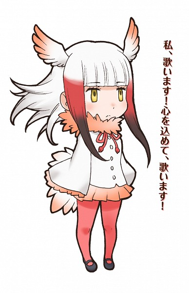 Crested Ibis (Kemono Friends) - Kemono Friends