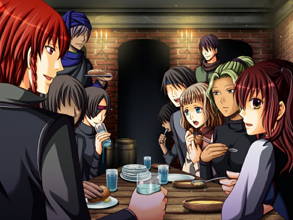 Tags: Anime, QuinRose, Crimson Empire ~Circumstances to Serve a Noble~, Curtis Nile, Sheila Rozann, CG Art